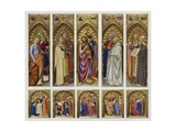 Altarpiece of All Saints, 1360 Giclee Print by Giovanni Da Milano