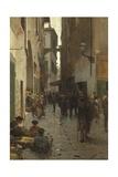Ghetto of Florence Reproduction procédé giclée par Telemaco Signorini