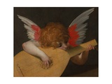 Musician Angel, 1521 Giclee Print by Rosso Fiorentino