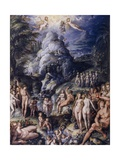 The Age of Gold, 1570 Giclee Print by Jacopo Zucchi