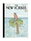 The New Yorker Cover - March 7, 2016 Regular Giclee Print by Danny Shanahan