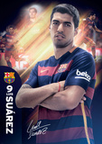 Barcelona Suarez 15/16 Prints