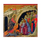 The Maestà: Christ's Descent to Limbo Giclee Print by Duccio Di buoninsegna