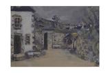 La ferme Reproduction procédé giclée par Edouard Vuillard
