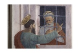 St. Paul Visits St. Peter in Prison Giclee Print by Filippino Lippi