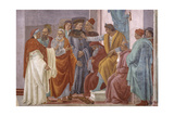 St. Peter and St. Paul, Dispute with Simon Magus Giclee Print by Filippino Lippi