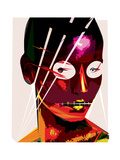 Electric Woman Posters by Enrico Varrasso