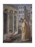 Healing of the Crippled Man Giclée-tryk af Masaccio,