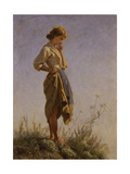 Filomena on Top of the Mountain, 1864 Giclee Print by Filippo Palizzi