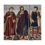Altarpiece of the Three Saints Giclee Print by Antonio Pollaiolo