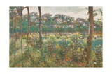 Lombard Countryside, 1908 Giclee Print by Umberto Boccioni