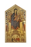 Maestà, Virgin and Child Giclee Print by  Cimabue