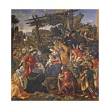 Adoration of the Magi, 1596 Giclee Print by Filippo Lippi