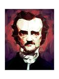 Edgar Allan Poe Photographic Print by Enrico Varrasso