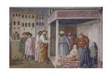 Raising of Tabitha, 1424-25 Giclee Print by Masolino Da Panicale