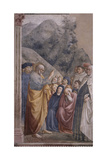 Preaching of Saint Peter Giclee Print by Masolino Da Panicale
