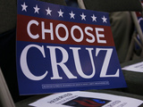 GOP 2016 Cruz Photographic Print by Sue Ogrocki