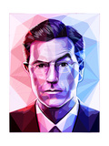 Stephen Colbert Posters by Enrico Varrasso