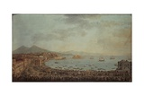 Royal Procession in Piedigrotta, Naples Giclee Print by Antonio Joli