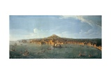 Naples Seen from the Sea Giclee Print by Antonio Joli