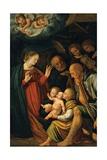 Birth of Christ, Ca. 1495-1546 Giclée-tryk af Gaudenzio Ferrari