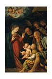 Birth of Christ, Ca. 1495-1546 Giclee Print by Gaudenzio Ferrari