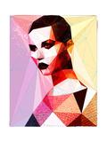 Goth Girl Poster by Enrico Varrasso