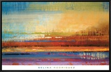 Horizons II Framed Canvas Print by Selina Rodriguez