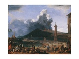 The Gulf of Naples Giclee Print by Johannes Lingelbach
