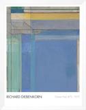 Ocean Park 79, 1975 Framed Canvas Print by Richard Diebenkorn