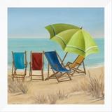Four Summer II Framed Canvas Print by Carol Robinson