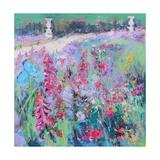 Parisienne Garden Giclee Print by Sylvia Paul