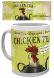 Fable Chicken Tea Mug Tazza