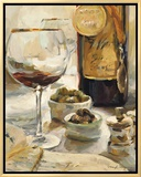 Award Winning Wine I Framed Canvas Print by Marilyn Hageman