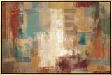 Oriental Trip Crop Framed Canvas Print by Silvia Vassileva