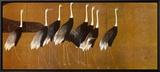 Cranes Framed Canvas Print by Ogata Korin