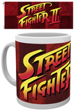 Street Fighter Logo Mug Tazza