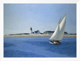 The Long Leg, 1930 Framed Canvas Print by Edward Hopper