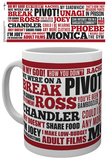 Friends Quotes Mug Taza