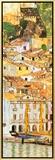 Malcesine sul Garda (detail) Framed Canvas Print by Gustav Klimt
