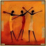 Feel Free I Framed Canvas Print by Jan Eelse Noordhuis
