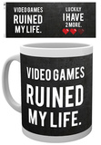 Gaming Ruined My Life Mug Tazza