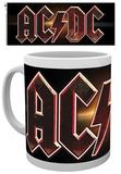 AC/DC Logo Mug Taza