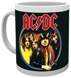 AC/DC Band Mug Taza