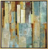 Tribeca I Framed Canvas Print by Tom Reeves