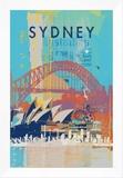 Cities V Framed Canvas Print by Ken Hurd