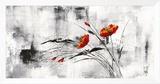 Reve Fleurie VI Framed Canvas Print by Isabelle Zacher-finet