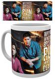 Supernatural Sam & Dean Mug Taza
