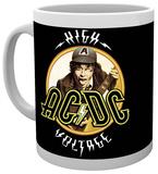 AC/DC High Voltage Mug Tazza