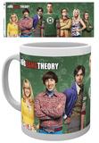 Big Bang Theory Cast Mug Taza